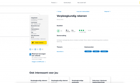 Screenshot zoekportaal 3