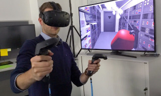 Virtual reality VR fotocredit ESA