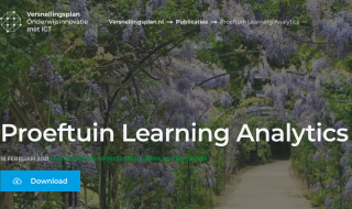 Proeftuin learning analytics