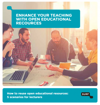 Flyer Enhance your teaching with open educational resources