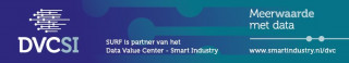 SURF is partner van het data value center smart industry