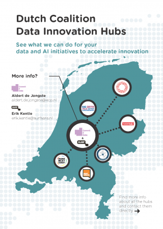 Flyer Dutch Coalition Data Innovation Hubs