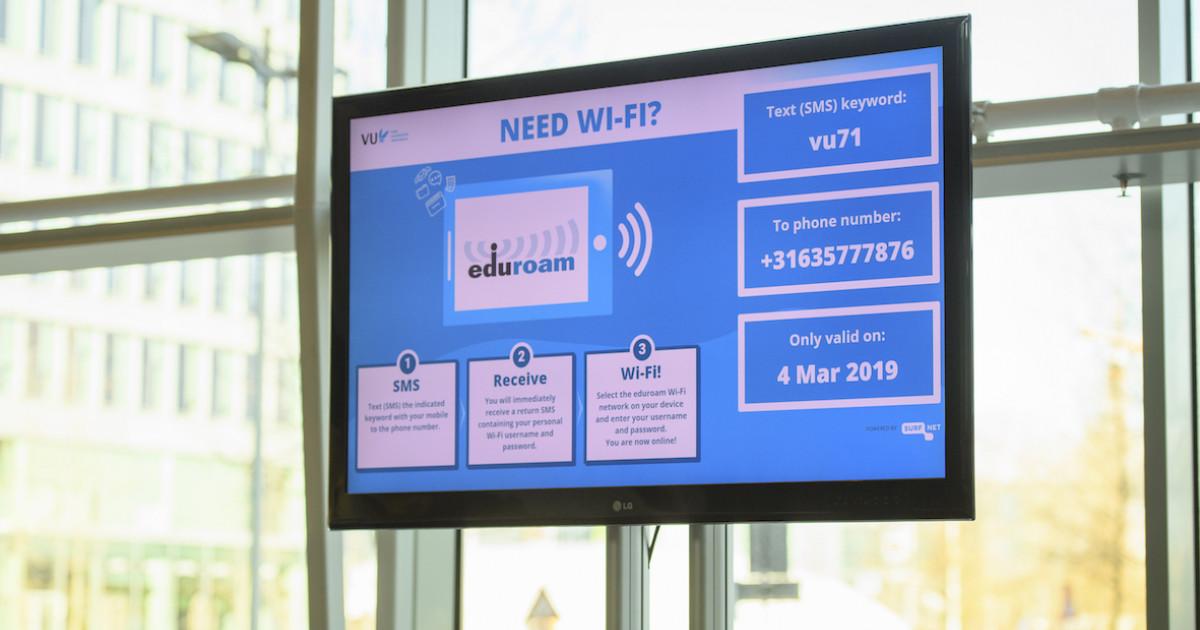 Eduroam Visitor Access Wifi Voor Je Bezoekers Surfnl